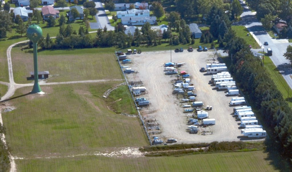Storage Arial view